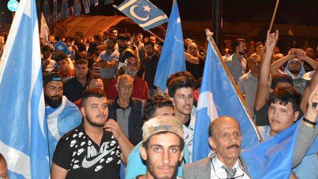Türkmen göstericilerin genel seçim protestoları üçüncü gününde