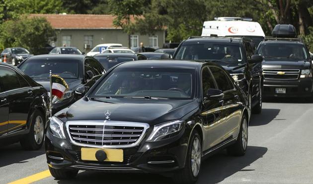 Kuveyt Emiri Şeyh Sabah, İstanbul'a geldi