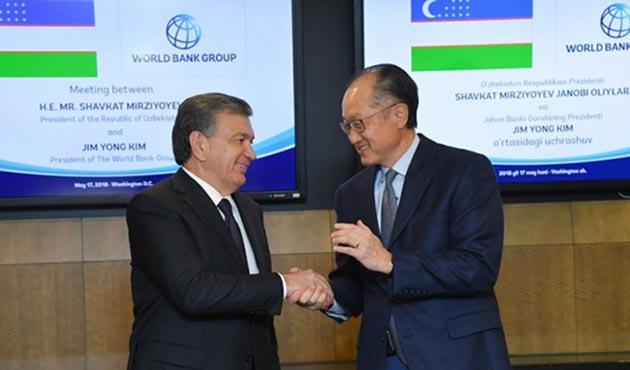 Dünya Bankası Özbekistan'a 940 milyon dolar kredi verecek
