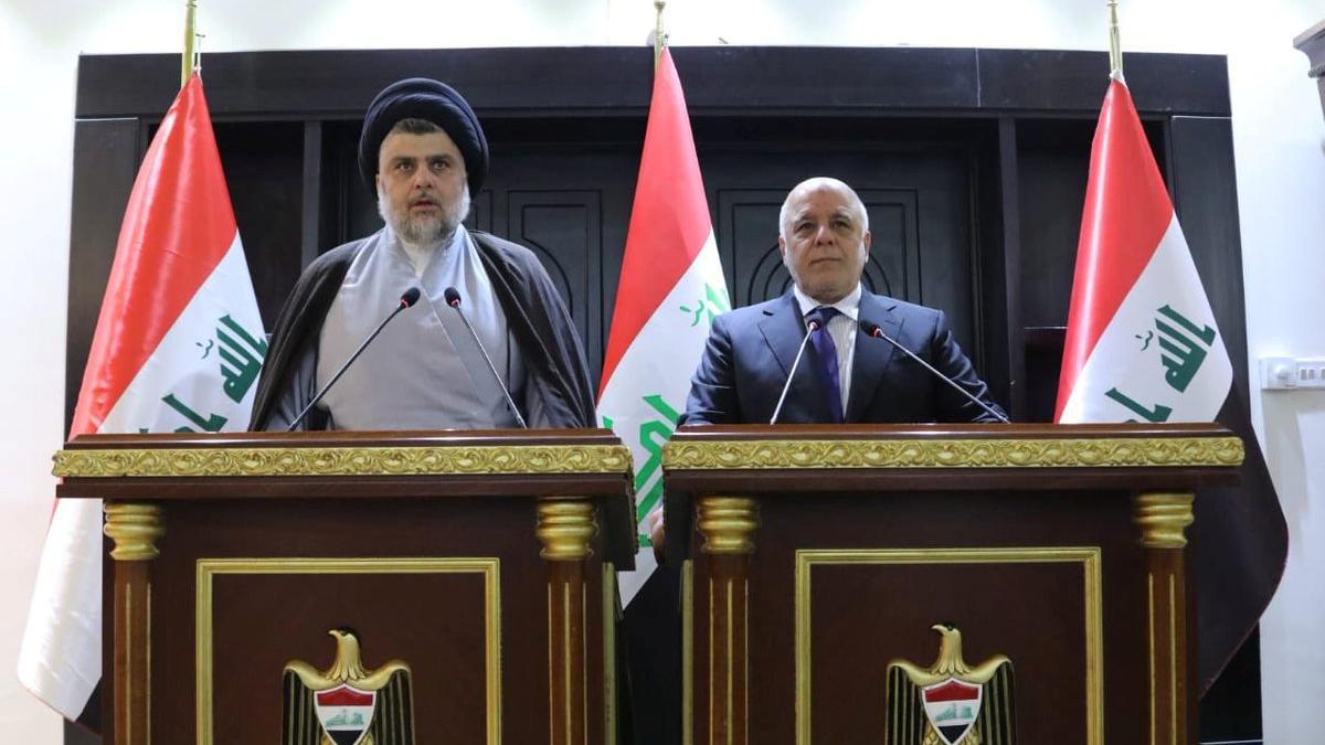 İbadi ve Mukteda Es-Sadr'dan koalisyon sinyali