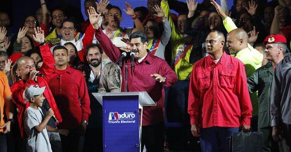 Venezuelalılar yine Maduro dedi
