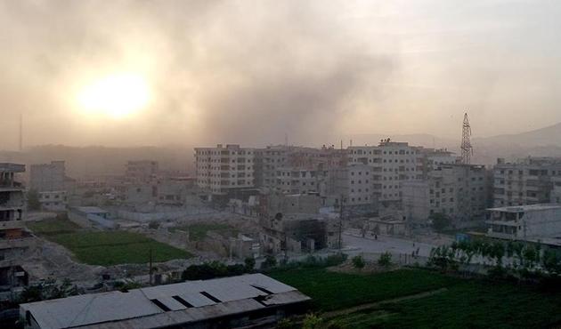 Şam ilk kez tamamen Esed rejiminin kontrolüne girdi