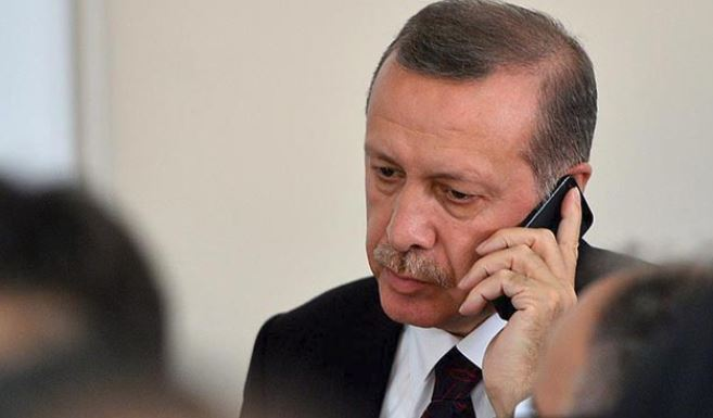 Erdoğan'dan Abbas'a 'geçmiş olsun' telefonu