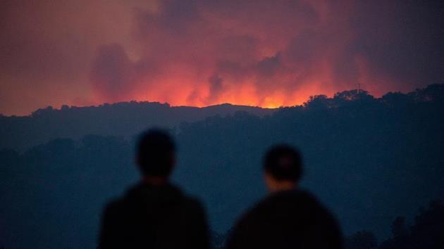 Aydos Ormanı'nda sabaha karşı yangın