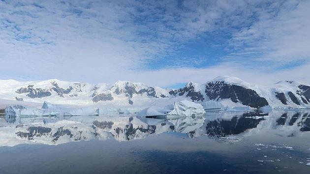Antarktika'da devasa büyüklükte kanyonlar keşfedildi