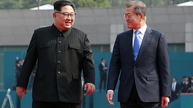 Güney ve Kuzey Kore liderleri iki önemli konu için bir araya geldi