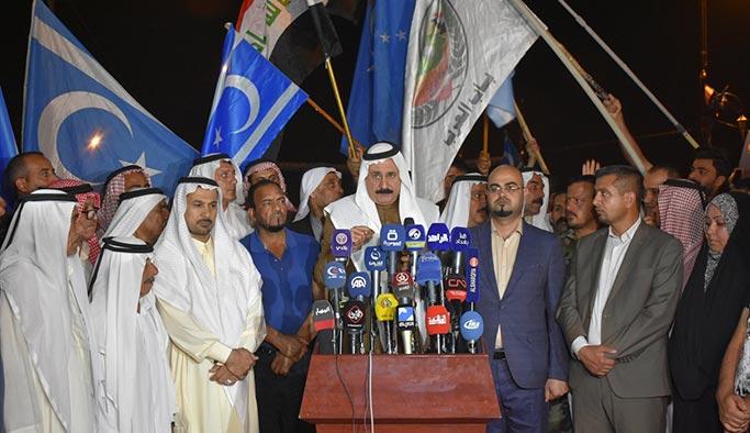 Kerkük'teki Türkmenler'den Araplara çağrı