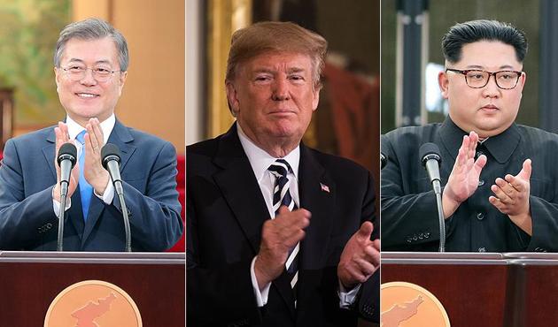 Trump-Kim zirvesine duruma göre Moon da katılabilir