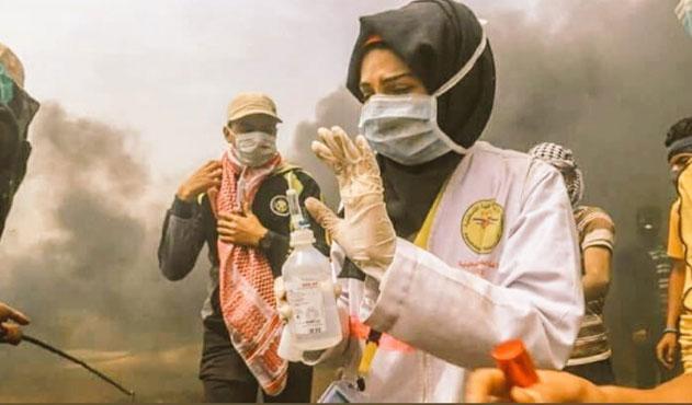 Gazze'nin gönüllü hemşiresi son yolculuğuna uğurlandı