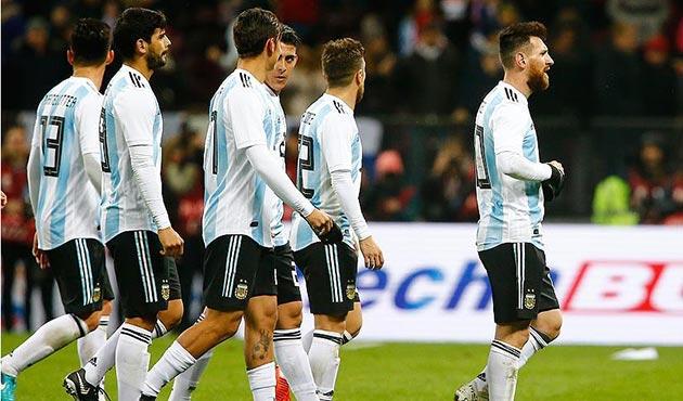 Filistinlilerden Arjantin'e 'Kudüs'te maç yapmayın' çağrısı