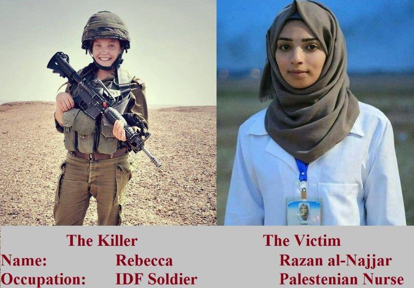 Filistinli hemşire Rezzan'ın katili aranıyor