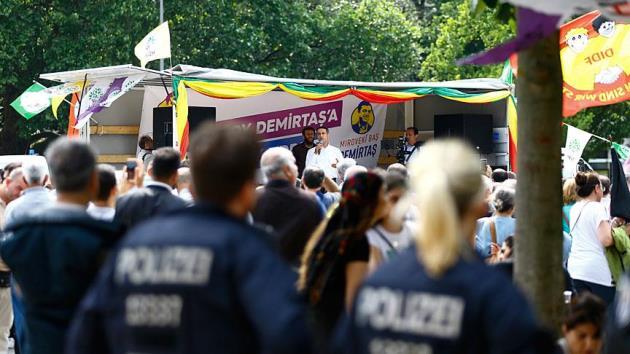 Almanya HDP'nin Berlin mitingine göz yumdu