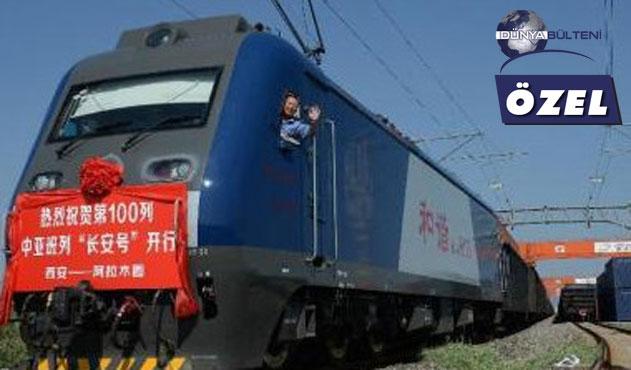 Çin Orta Asya'ya yük tren seferlerini artıracak