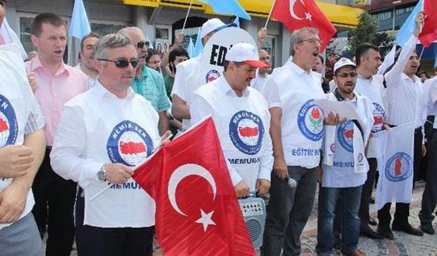 Edirne'de 'Doğu Türkistan' protestosu