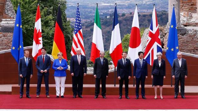 Kanada'da G7 Zirvesi başladı