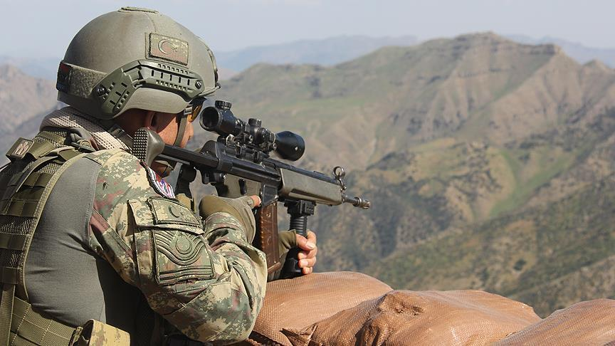 Eylem hazırlığındaki 6 PKK'lı etkisiz hale getirildi