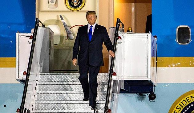 Kim'den sonra Trump da Singapur'da