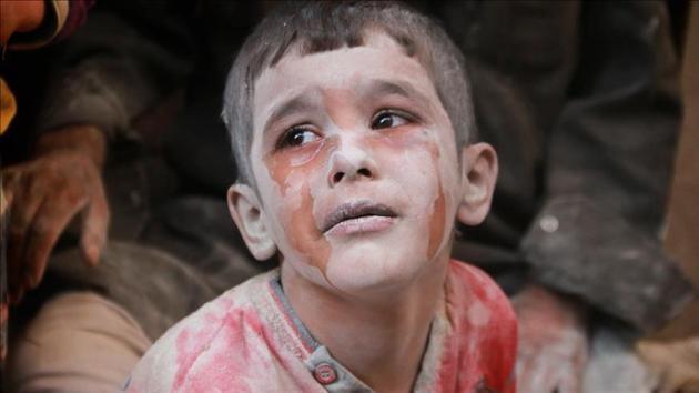 Esed rejimi İdlib'de 4 günde 13 çocuğu öldürdü