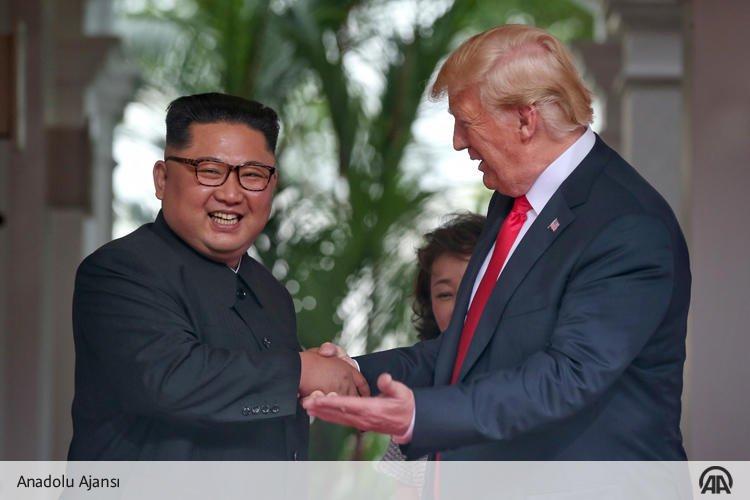 Kim ve Trump nihayet kavuştu | FOTO
