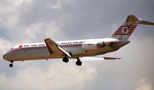 THY'nin gazi uçakları: DC9'lar…