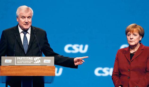 Alman hükümetinde sığınmacı krizi büyüyor