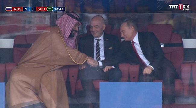 Putin, Prens Selman'ın elini sıkarak teselli verdi
