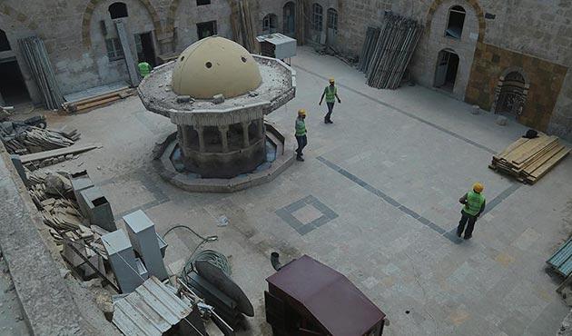 Bab'daki tarihi cami ve çarşı yeniden canlanıyor | FOTO