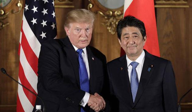 Trump'tan Japonya'ya Meksikalı göçmen tehdidi