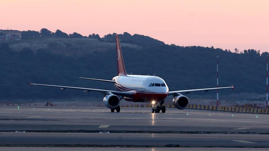Erdoğan'ın uçağı İstanbul Yeni Havalimanı'na iniş yaptı
