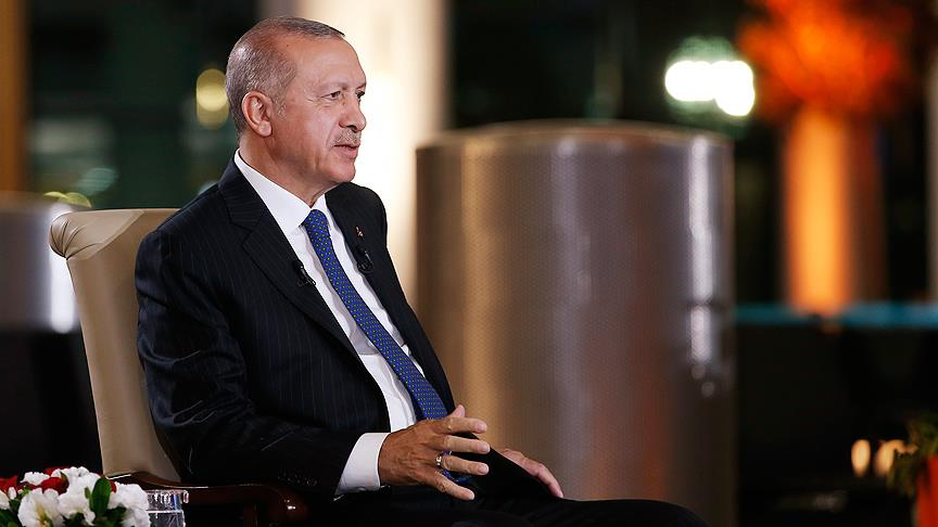 Erdoğan Cumhurbaşkanlığı Hükümet Sistemini anlattı