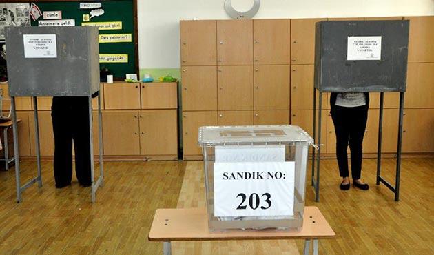 KKTC yerel seçimler için sandık başında