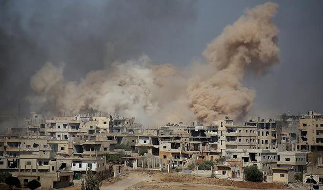 Esed rejimi güney cephesinde sivilleri vurdu