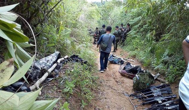 Filipinler'de askerler yanlışlıkla polisleri vurdu: 6 ölü