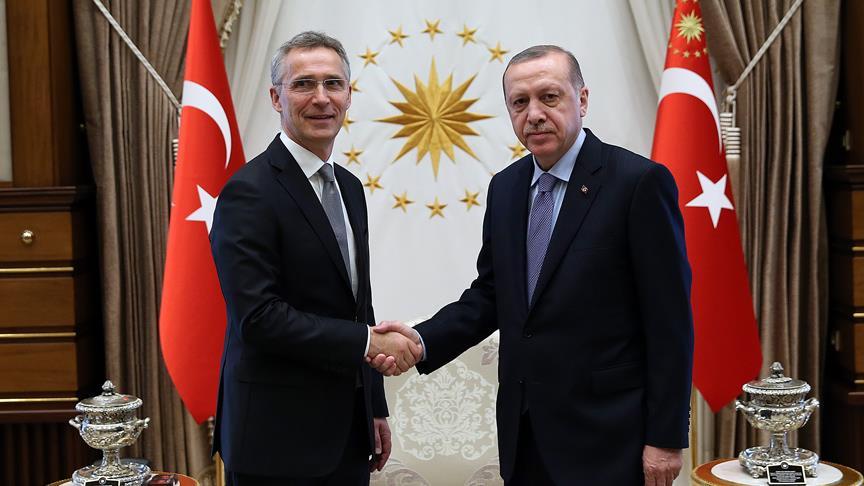NATO Genel Sekreteri Stoltenberg Erdoğan'ı tebrik etti