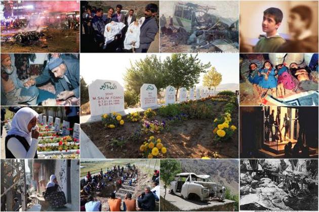 PKK katliamlarının tarihçesi | FOTO