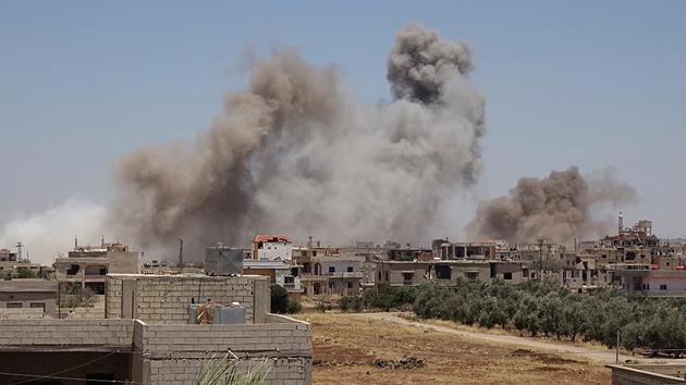 Rejim güçleri Dera'da yine sivilleri vurdu