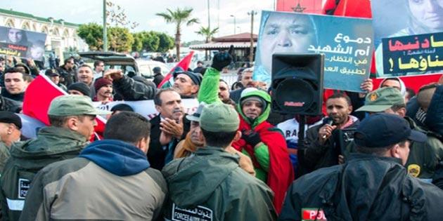 Fas'ta adaletsiz geçim isyanı büyüyor