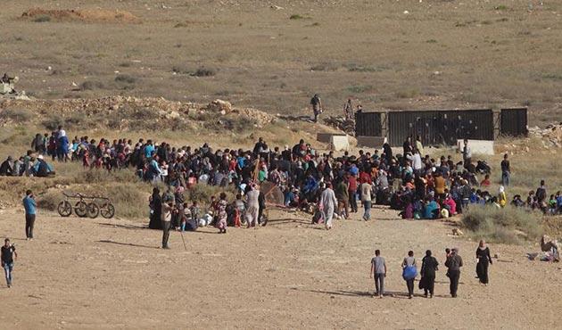 Deralıların Ürdün sınırına göç çilesi sürüyor