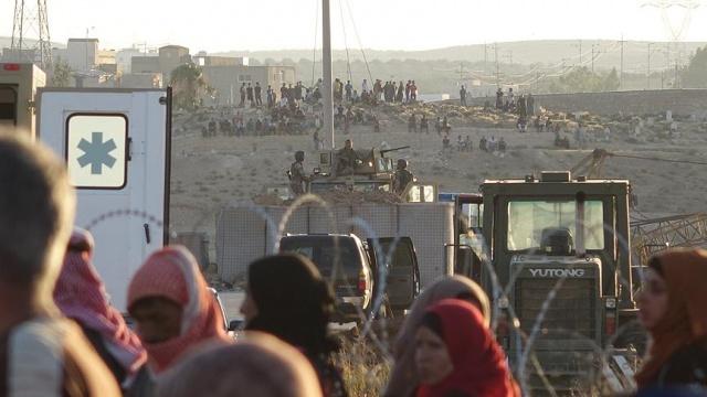 Dera'nın yaralı sivillerine Ürdün sınırında tedavi
