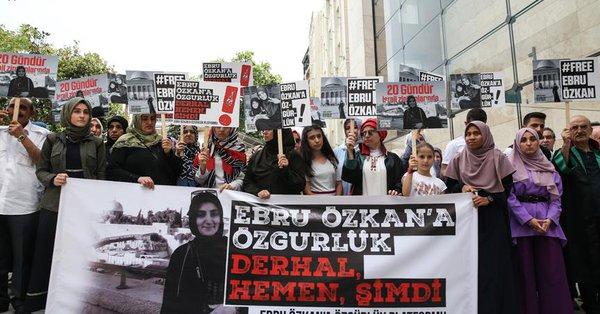 Ebru Özkan'ın gözaltı süresi yine uzatıldı