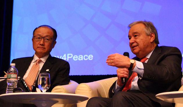 Guterres ve Kim'den Arakanlılar için dünyaya serzeniş