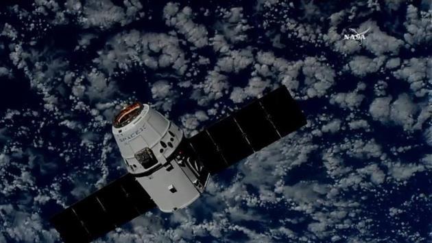 SpaceX'in kargo kapsülü uzay istasyonuna ulaştı