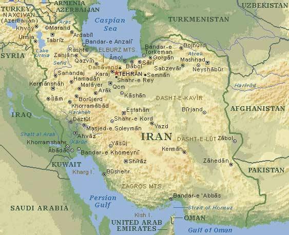 İran'ın güneydoğusunda 2 Belçikalı kayboldu