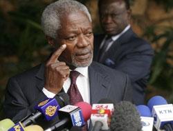 Suriyeli muhaliflerden Annan'a red