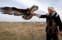 Kazakların kartallarla avlanma geleneği