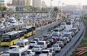 İstanbul trafiğinde Kurban Bayramı yoğunluğu