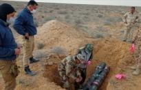 Libya'da patlayıcıların imhasına devam ediliyor