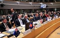 Avrupa ve Asya'nın liderleri ASEM Zirvesi'nde