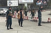 Afganistan'da bakanlık yakınında patlama