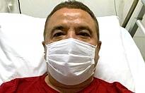 Muhittin Böcek hastaneden çıktı